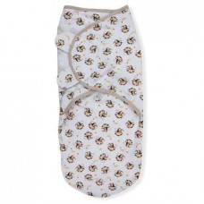 Chăn quấn Summer SwaddleMe Monkey Business L